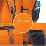 Sac à dos de sport Ultra Léger Pliable Sac à dos de randonnée Pour camping, randonnée,voyage,fitness Sac étanche 20L de la marque ZOMAKE image 3 produit