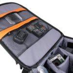 Sac à dos de transport noir DURAGADGET pour GoPro 1, 2, 3, 3+ HD, GoPro Hero 4, HERO+ LCD, Hero4 Session, HERO5 Black, Hero 5 Session caméras de sport et ses accessoires - avec compartiments de rangement de la marque Duragadget image 4 produit