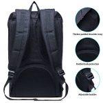 Sac à dos léger pour ordinateur portable WIN•DF Outdoor Travel Rucksack Casual Large Daypack pour hommes et femmes de la marque image 3 produit