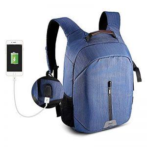 Sac à dos pour appareil photo et Reflex et accessoires, Pbreack Sac à dos Caméra vidéo étanche randonnée housse sacoche anti-choc (Bleu) de la marque Pbreack image 0 produit