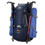 Sac à dos randonnée 45L + 5L 50L 65L+5L Housse Imperméable pour Sport Sacs de trekking Camping Backpack Alpinisme Escalade de la marque S-D image 5 produit