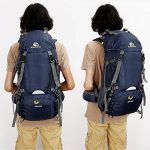Sac à dos randonnée 45L + 5L 50L 65L+5L Housse Imperméable pour Sport Sacs de trekking Camping Backpack Alpinisme Escalade de la marque S-D image 6 produit