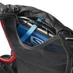 Salomon, SKIN PRO 15 SET, Sac à dos léger 15 L (Taille unique) pour la course à pied et la randonnée pédestre ou à vélo, 40 x 18 x 17 cm, Noir/Rouge, L37996200 de la marque image 1 produit