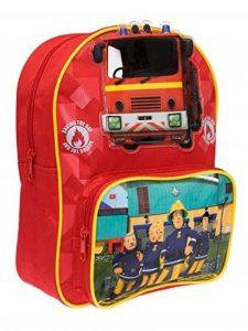 Sam le Pompier Garçon Sac à dos Fireman Sam - Rouge - de la marque Sam le Pompier image 0 produit