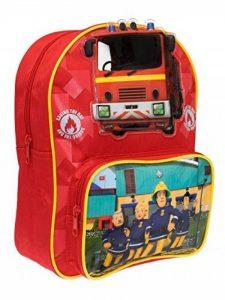 Sam le Pompier Garçon Sac à dos Fireman Sam - Rouge - de la marque image 0 produit