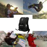 SHOOT Selfie Pro Sac à dos Guide de montage rapide Sac de sport pour GoPro Hero 6/5/4/3 +/3 Crosstour Campark YI 2K Nouveau Caméra Action Accessories pour Vélo Cyclisme Ski Tournage de la marque SHOOT image 5 produit