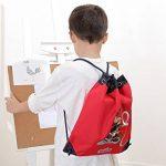 sigikid 23330 enfant garçon, sac à dos de sport rouge/bleu, 'Frido Firefighter' de la marque image 1 produit