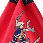 sigikid 23330 enfant garçon, sac à dos de sport rouge/bleu, 'Frido Firefighter' de la marque image 5 produit
