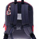 sigikid 23333 enfant garçon, sac à dos rouge/bleu, 'Frido Firefighter' de la marque image 1 produit