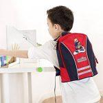 sigikid 23333 enfant garçon, sac à dos rouge/bleu, 'Frido Firefighter' de la marque image 2 produit