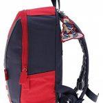 sigikid 23333 enfant garçon, sac à dos rouge/bleu, 'Frido Firefighter' de la marque image 5 produit