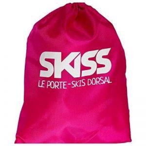 SKISS - Porte-skis dorsal enfant rose de la marque SKISS image 0 produit