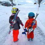 SKISS - Porte-skis dorsal enfant rose de la marque SKISS image 1 produit