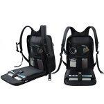 SLOTRA Scansmart Sac à dos pour Ordinateur Portable 17 pouces TSA Friendly Backpack avec Port de Chargement USB Sac pour Ordinateur Portable pour Voyage d'affaires Zip étanche, Gris Foncé de la marque image 1 produit