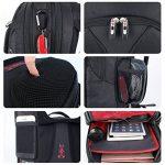 Soarpop SA9666-FR Sac à Dos Pour Ordinateur Portable Sac à Dos d'affaires Noir de la marque image 5 produit