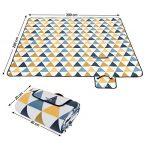 Songmics 200 x 200 cm Couverture Tapis de pique-nique imperméable pliable portable pour Camping Jardin avec Poignée GCM76S de la marque image 2 produit