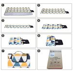 Songmics 200 x 200 cm Couverture Tapis de pique-nique imperméable pliable portable pour Camping Jardin avec Poignée GCM76S de la marque Songmics image 5 produit