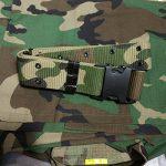 Tactical Veste Hommes BDU Combat Uniforme QMFIVE T-shirt et Pantalon Suit Woodland Camo pour Guerre Guerre Armée Militaire Paintball Airsoft Hunting Shooting de la marque image 4 produit