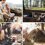 Terra Hiker Set de Casseroles et Poêles Pour Camping, Set de Cuisson Antiadhésive Ensemble de Popotes Portables 1 à 3 Personnes Pour Camping Randonnée Pédestre Pêche de la marque Terra Hiker image 5 produit