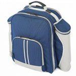 The Greenfield Collection BPD4DBH - Sac à dos de pique-nique Deluxe pour 4 personnes en Bleu Nuit de la marque image 1 produit
