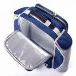 The Greenfield Collection BPD4DBH - Sac à dos de pique-nique Deluxe pour 4 personnes en Bleu Nuit de la marque image 4 produit