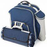 The Greenfield Collection BPD4DBH - Sac à dos de pique-nique Deluxe pour 4 personnes en Bleu Nuit de la marque image 6 produit
