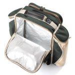 The Greenfield Collection BPD4DGH - Sac à dos de pique-nique Deluxe pour 4 personnes en Vert Forêt de la marque image 4 produit