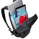"""Thule TEBP213 K """"EnRoute"""" Sac à dos 13L pour ordinateur portable, 33,02 cm (13 pouces) Noir 13L noir de la marque image 4 produit"""