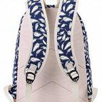 Tibes imprimé sac à dos sacs à dos personnalisés étudiant de la marque image 4 produit