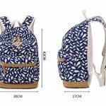 Tibes imprimé sac à dos sacs à dos personnalisés étudiant de la marque Tibes image 2 produit