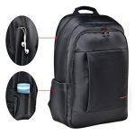 Tigernu ordinateur portable sac à dos 17.3 pouces pour ordinateur portable étanche résistant Anti-Theft Zip École de commerce Sacs à dos-noir de la marque Tigernu image 2 produit