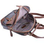 TinkSky Korean Sac à dos cartable en cuir style vintage chic pour fille de la marque image 6 produit