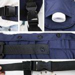 toaob Porte-bébé Porte-bébé bébé förder Machine peut la tête Protéger sac à dos Ventre et Hanches Sangle de portage réglable boucle pour les enfants et les bébés 3–30mois de la marque TOAOB image 4 produit