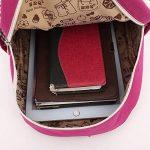 Toile Sac A Dos Enfant Fille Lapin Bambin Mignon Cartable Maternelle Garderie PréScolaire(1-3ans) de la marque image 5 produit