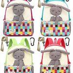 Toile Sac A Dos Enfant Fille Lapin Bambin Mignon Cartable Maternelle Garderie PréScolaire(1-3ans) de la marque Lakeausy image 4 produit
