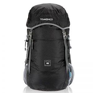 TOMSHOO 40L Sac à dos en Nylon Ultra Léger Pliable Etanche Pour Voyage Trekking Randonnée Camping de la marque image 0 produit
