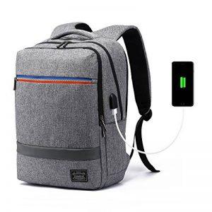 563850ce48 Sac à Dos Ordinateur Portable Grande Capacité avec port USB 15.6