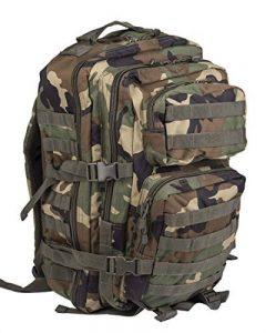 US Assault Pack Sac à dos avec système de fixation spécial Laser-Cut, taille Small de la marque Miltec image 0 produit