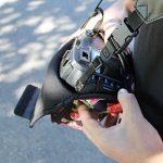USA Gear Housse Etui Appareil Photo Réflex Numérique en Néoprène Robuste Protection pour vos Appareils DSRL SLR Canon EOS 700D , Nikon D3300 , Pentax K-S2 Et Plus - Floral de la marque Accessory Power image 5 produit