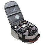 USA Gear Sac à Dos Appareil Photo Réflex Intérieur Ajustable , Base Etanche & Support dos Rembouré Pour Canon EOS 700D , 1300D / Nikon D3400 / Pentax … de la marque image 2 produit
