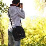 USA Gear Sacoche Sac Bandoulière Appareil Photo Réflex Housse Semi-Rigide Transporte jusqu' à 3 Objectifs Pour Nikon, Canon EOS de la marque USA GEAR image 3 produit