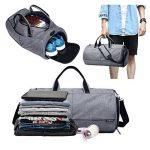 Valleycomfy Sac de sport Gym Sacs Chaussures de grande capacité avec poche à la main/épaule/sac en bandoulière Fitness bagages Sacs de la marque image 1 produit