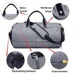 Valleycomfy Sac de sport Gym Sacs Chaussures de grande capacité avec poche à la main/épaule/sac en bandoulière Fitness bagages Sacs de la marque Valleycomfy image 2 produit