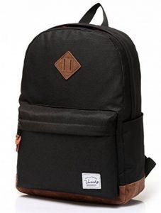 Vaschy School Backpack, Vaschy Unisexe Classique poids léger résistant à l'eau College sac à dos sac à dos pour ordinateur portable de 14 pouces de la marque image 0 produit