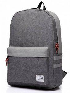 Vaschy School Backpack, Vaschy Unisexe Classique poids léger résistant à l'eau College sac à dos sac à dos pour ordinateur portable de 14 pouces de la marque Vaschy image 0 produit
