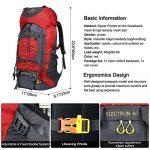 Vbiger Sac à dos pour Sport Randonnée Trekking Camping Grand-volume de la marque image 2 produit