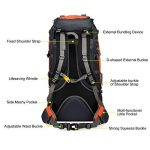 Vbiger Sac à dos pour Sport Randonnée Trekking Camping Grand-volume de la marque image 3 produit