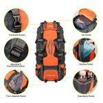Vbiger Sac à dos pour Sport Randonnée Trekking Camping Grand-volume de la marque image 4 produit