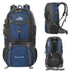 Vbiger Sac à dos Étanche Randonnée 60LPack Sport de plein air Sac à dos pour l'Escalade, la Randonnée, le Trekking, l'Alpinisme, avec housse de Pluie de la marque image 3 produit