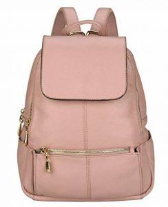 VIDENG POLO Sac à dos en cuir décontracté Sac à main Sac à bandoulière scolaire Mini sac à dos pour Femmes de la marque image 0 produit